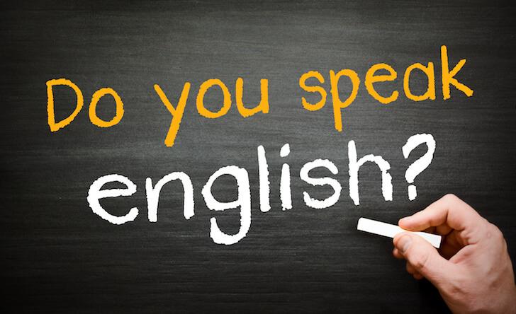 英語は話せますか?