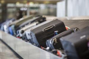空港の手荷物カウンター