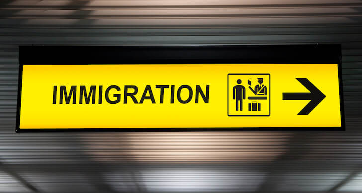 immigration(入国審査)