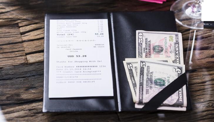 チップの支払い方