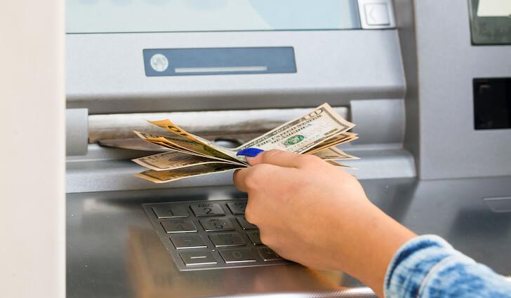 ATMでキャッシング