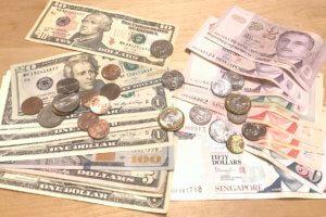 米ドルとシンガポールドル