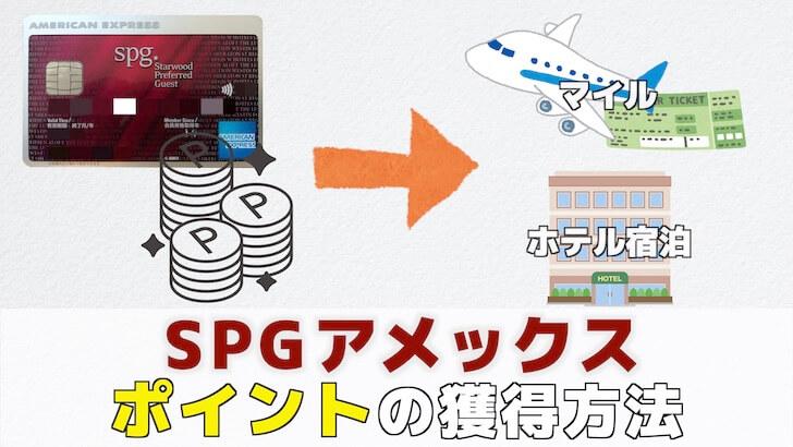 SPGアメックス ポイントの画像